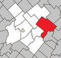 Inverness Quebec location diagram.png