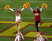 Iowa State Cyclones Cheerleaders - 22 Oct. 2011.jpg