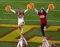 Iowa State Cyclones Cheerleaders - 22 Oct. 2011.jpg