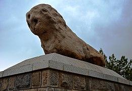 Iran - Hamadan - Sangshir - Leone di pietra - panoramio.jpg