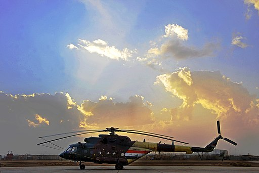 Iraqi Army Aviation Command Mi-17 helicopter