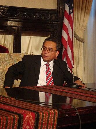 Irwandi Yusuf - Aceh Governor Irwandi Yusuf in 2007.