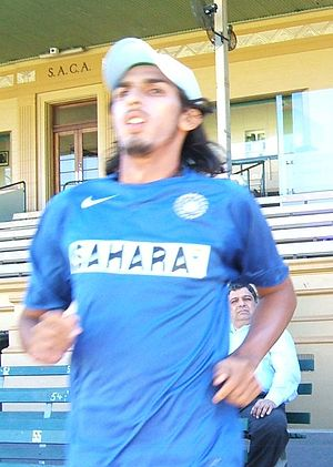 Ishant Sharma at Adelaide Oval