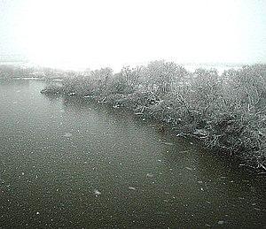 石狩川 2004年12月5日撮影