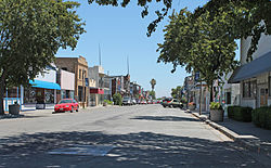 Downtown Isleton, a National Historic Landmark