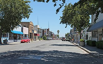 Isleton, California - Downtown Isleton, a National Historic Landmark