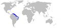 Isogomphodon oxyrhynchus distmap.png