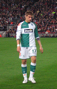 Ivan Klasnić au Werder.