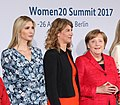 Ivanka Trump, Stephanie Bschorr & Angela Merkel, April 2017.jpg