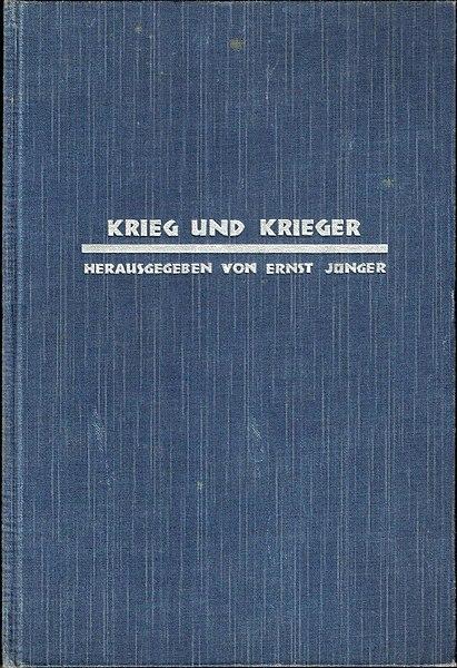 File:Jünger, Ernst (Hg.) Krieg und Krieger,1930.jpg
