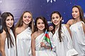 JESC 2018 partisipants. Fidan Huseynova with her team (Azerbaijan).jpg