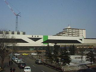 Kotoni Station (JR Hokkaido) Railway station in Sapporo, Japan