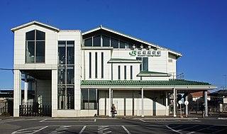 Musashi-Takahagi Station Railway station in Hidaka, Saitama Prefecture, Japan