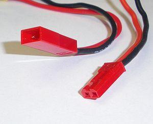 DC connector - JST RCY connectors
