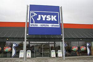 Jysk (store) - Jysk store in Slovakia
