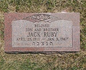Jack Ruby - Jack Ruby, Westlawn Cemetery