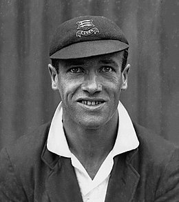 Jack O'Connor English cricketer 1925.jpg
