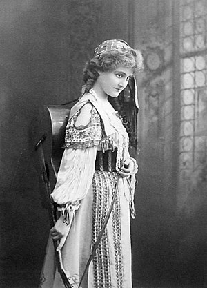 Ethel Jackson - Ethel Jackson in Miss Bob White (1901)