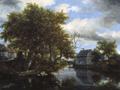 Jacob van Ruisdael - The Great Pool.png