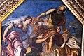 Jacopo tintoretto, il doge girolamo priuli riceve dalla giustizia la bilancia e la spada, 165-67, 02.JPG