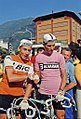 Jacques Anquetil and Felice Gimondi, Giro d'Italia 1967.jpg