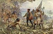 Jacques Cartier rencontre les indiens de Stadacone, 1535