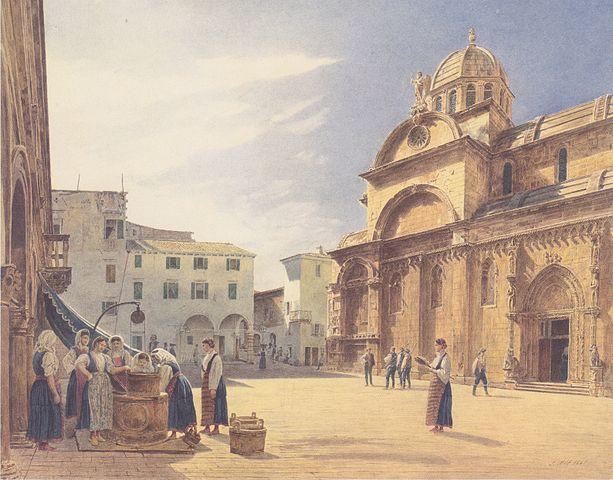 cattedrale di sebenico nell'Ottocento