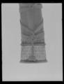Jakthorn, enligt inskriptionen tillverkat av horn från den siste uroxen i Europa - Livrustkammaren - 10895.tif