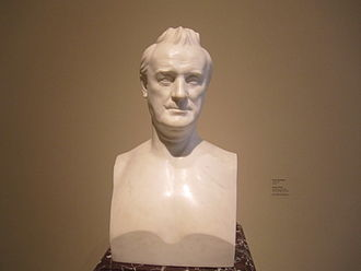 James Buchanan - Bust of James Buchanan by Henry Dexter at the National Portrait Gallery