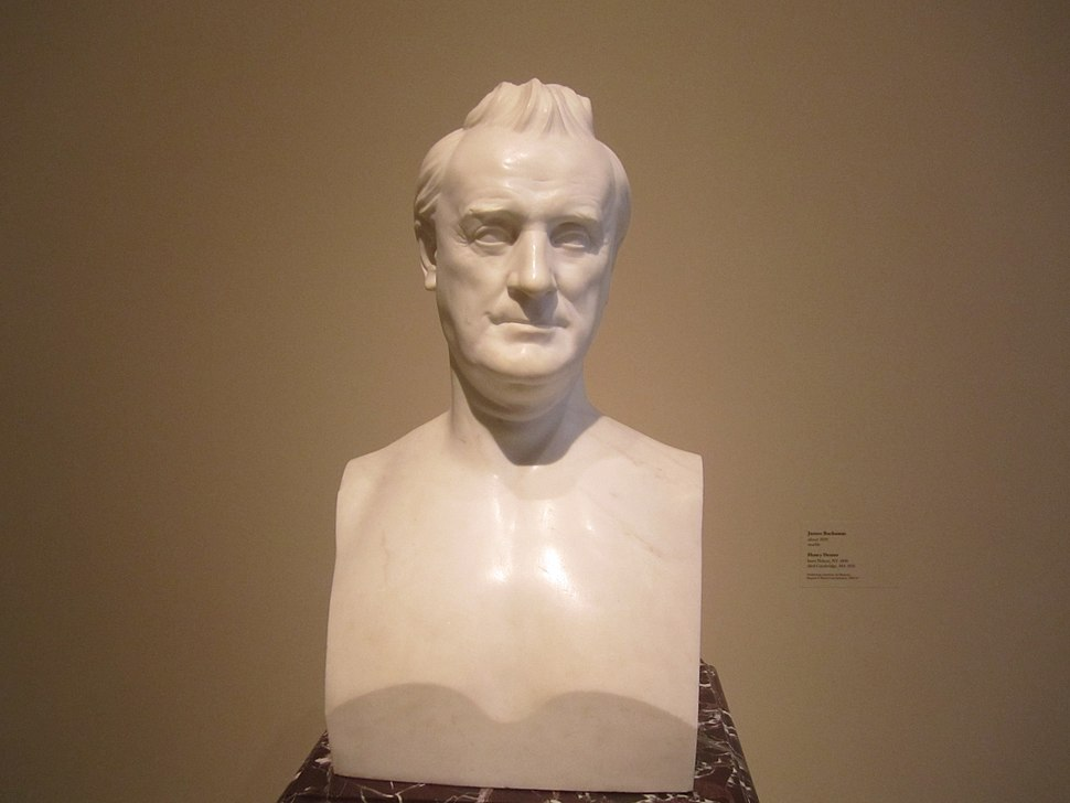 James Buchanan sculpture at National Portrait Gallery IMG 4538