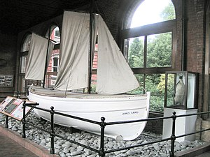 John Quiller Rowett - The James Caird, preserved at Dulwich College