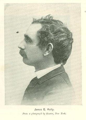 James E. Kelly (artist) - Image: James E. Kelly from Munsey's Magazine January 1896