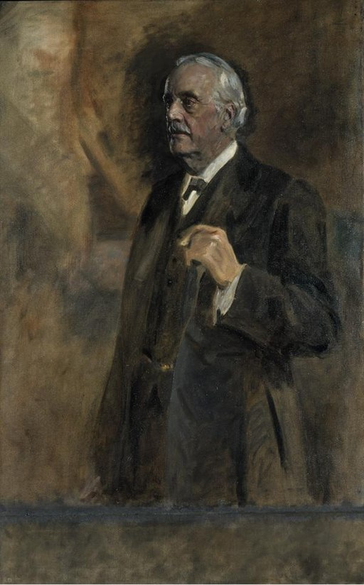 """Arthur James Balfour"" by James Guthrie"