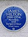 James Hilton Blue Plaque.JPG