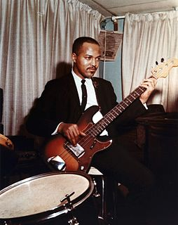 James Jamerson American bassist