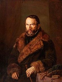 James Marshall Bildnis eines bärtigen Mannes im Pelzrock Weimar 1858.jpg
