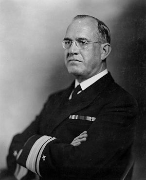 James O. Richardson - Rear Admiral James O. Richardson as Chief of the Bureau of Navigation, 1938