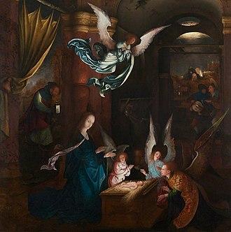 Jan de Beer (painter) - The Nativity