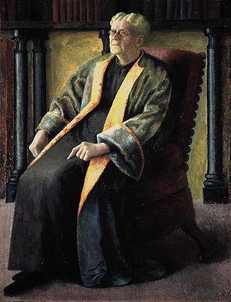 Jane Maria Strachey - by Dora Carrington