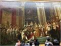 January Palais Louvre - Master Earth Photography 2014 Die Kaiserkrönung in Notre Dame de Paris, Panorama Gemälde von Jacques-Louis David, 1805 - panoramio.jpg
