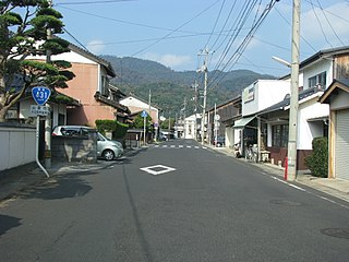 Japan National Route 431 road in Japan