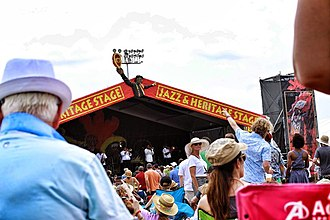 New Orleans Jazz & Heritage Festival - Jazz and Heritage Stage at the 2014 Jazz Fest
