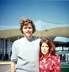 Jeb Bush with his fiancee, Columba Garnica.jpg