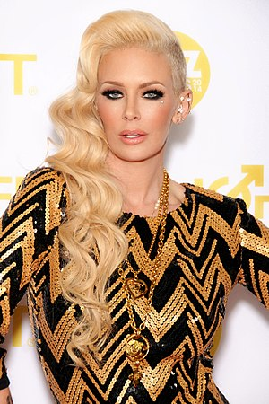 XBIZ Award - Jenna Jameson at the 2014 XBIZ Awards Show