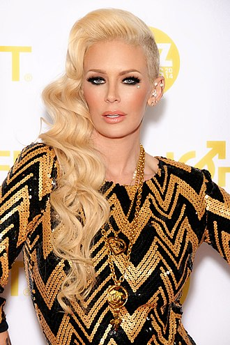 Jenna Jameson - Jameson at the XBIZ Awards in Los Angeles, California on January 24, 2014