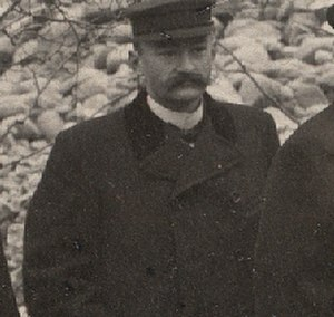 Jens Jensen (landscape architect) - Jensen in 1901