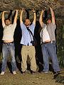 Jerusalem Three doomed amigos in Zedekhia's cave! (6035869633).jpg