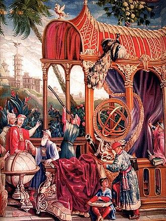 Johann Adam Schall von Bell - Jesuit astronomers with the Kangxi Emperor.