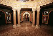 Jesuskirken Copenhagen crypt antechamber