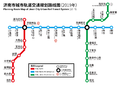 Jinan Metro Route Planning Map 2019.png